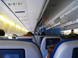 KLM機内