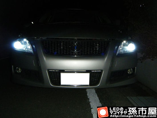 ブレイドBLADE(トヨタ) K様 装着写真