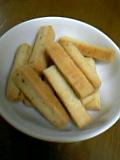 スープ塩クッキー焼き上がり