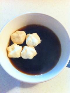 ふわわ in コーヒー