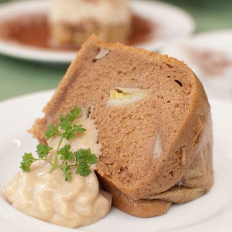 シナモンバナナケーキ