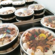 ソーベーズカフェのクリスマスケーキ
