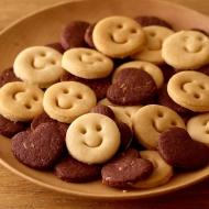ちびすけ玄米クッキー(白xココア)