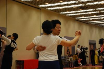 きくのさんとタンタン@ほほえみカップ