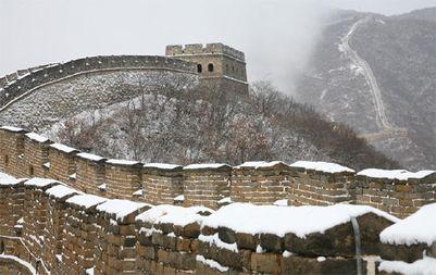 長城雪景色1