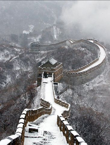 長城雪景色2