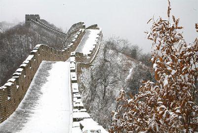 長城雪景色3