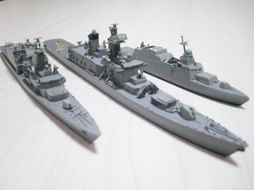 製作中の架空艦