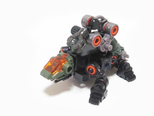ゾイド ブロックス カメ型