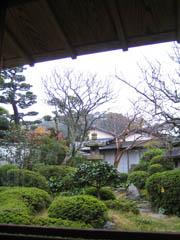 小野筑紫堂のお庭
