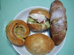 麦麦のパン4種