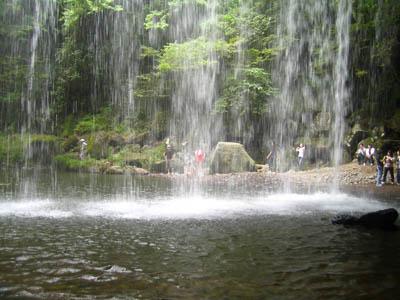 滝-真裏から