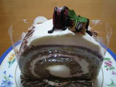 紅茶のロールケーキ