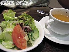 パスタランチA-サラダ&スープ