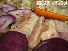 三枚肉のセイロ-アップ