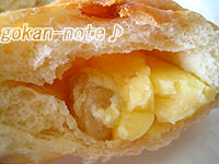 林檎クリームパン-断面