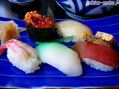 セットの上寿司