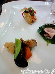 前菜-魚の南蛮漬け&筑前煮.jpg