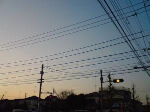 携帯で黄色信号を撮影した決定的瞬間!!!