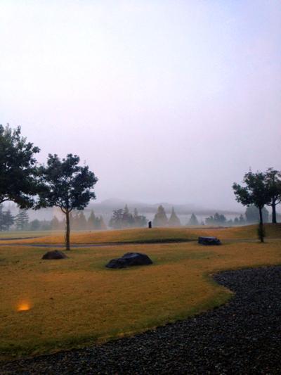 霧のコース