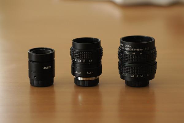 CCTV 25mm f1.2, Fujian 25mm f1.4, Fujian 35mm f1.7