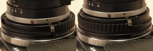 Leica M NEX Helicoid
