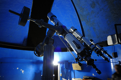太平少年自然の家の天体望遠鏡