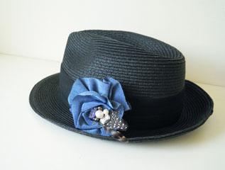 コサージュ帽子