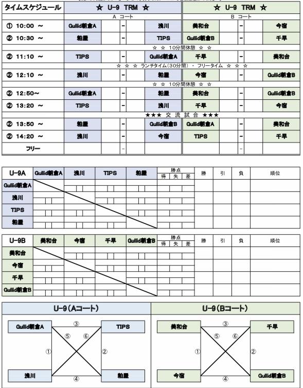 3/30(土)U-7.8.9
