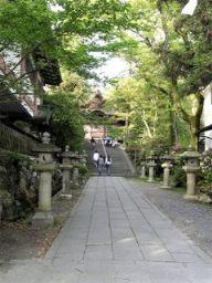 宇治神社への参道