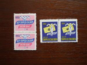 ゆりの切手
