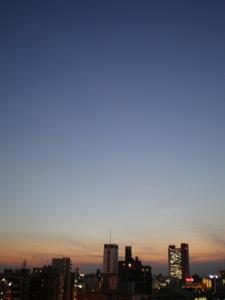 2009.12.10の夕焼け