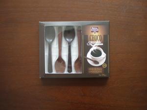 チョコレート型スプーン