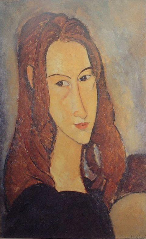 モディリアーニ ジャンヌの肖像