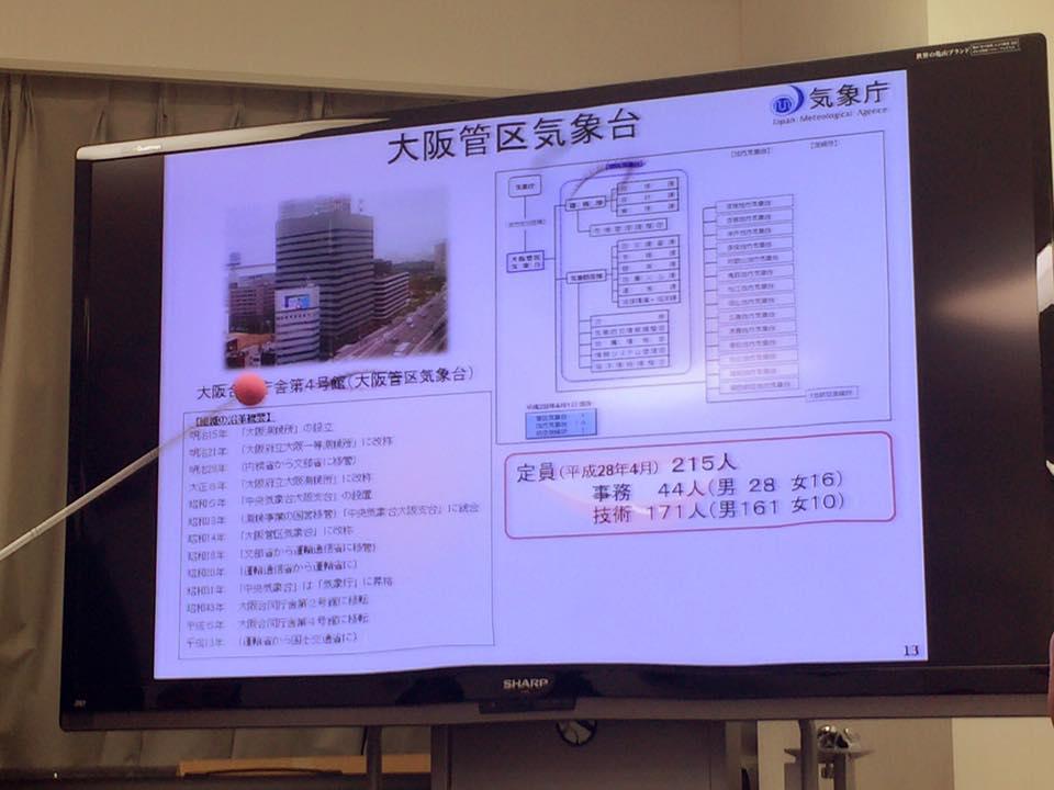 管区 気象台 大阪 大阪管区気象台 気象防災部