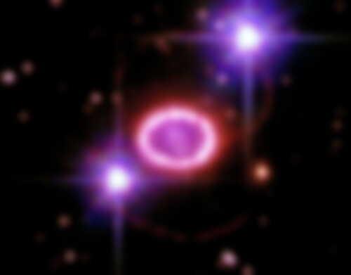 大マゼラン雲の中で輝く「宇宙の真珠」