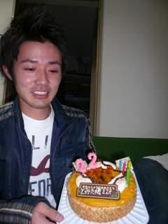 冨田とケーキ