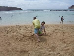 ハワイ稽古3