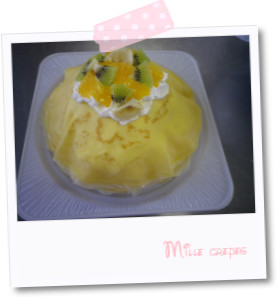 ミルクレープ1