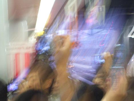 新幹線N700系 出発式 怪現象