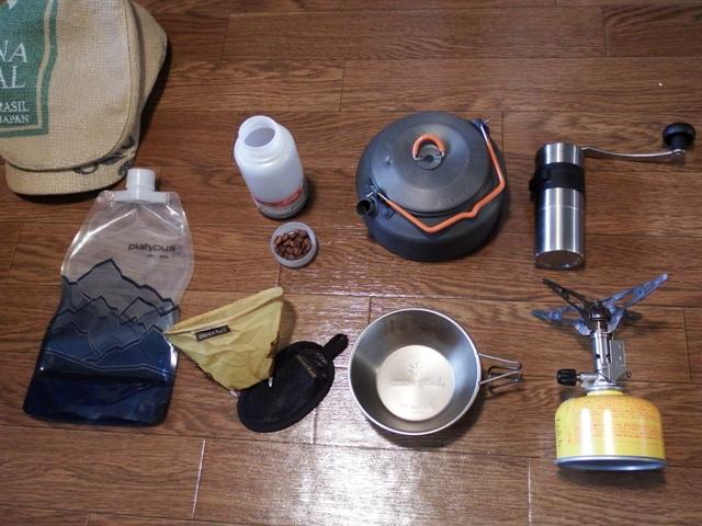 山コーヒー道具セット
