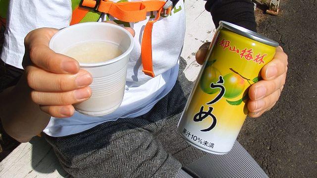 綾部山梅林梅ジュースと甘酒