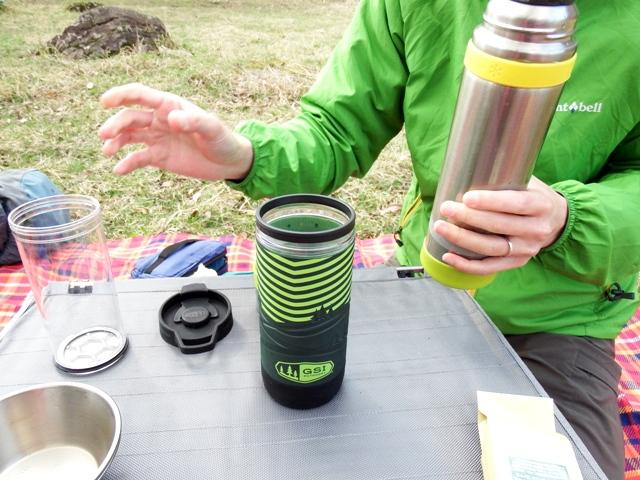 GSIコミュータージャバプレスで山コーヒー