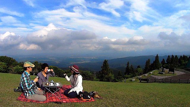 青山高原で山と珈琲