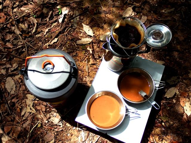 コーヒーバネットでドリップコーヒー