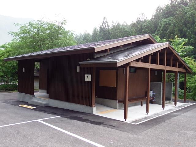大橋茶屋のトイレ