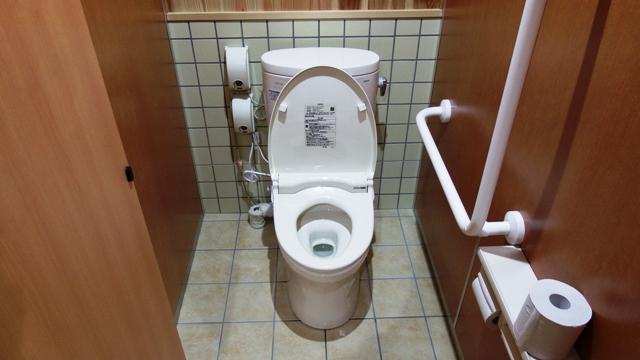 大橋茶屋のきれいな洋式トイレ