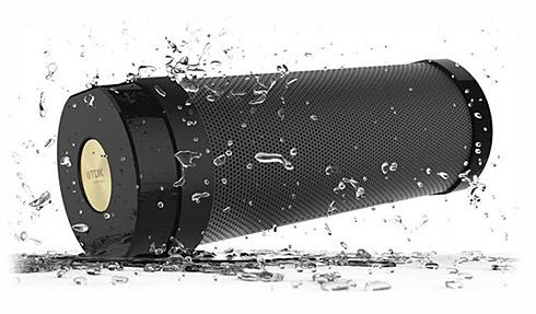 防水防塵耐衝撃ブルートゥーススピーカーTDK