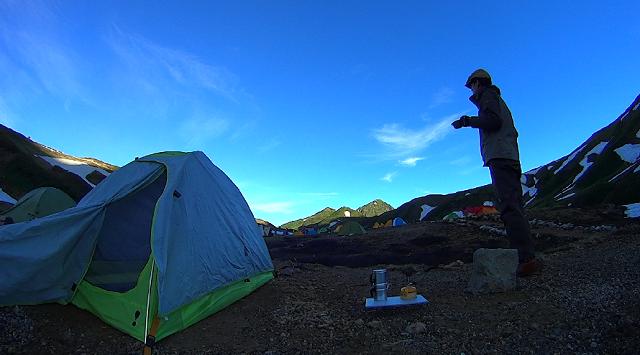 立山で山コーヒー