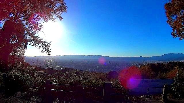 東山山頂公園の展望